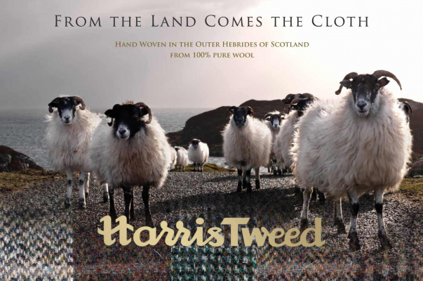 Harris Tweed - from the land comes the cloth