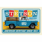 Stetson Metal Display Chevy Pick Up