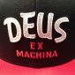 Deus Sketch Brand Cap black/red