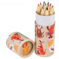 Colourful Creatures Colouring Pencils (set Of 12)
