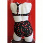 Esther Williams Two-piece classic black cherry