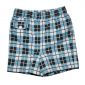Terry Check Swim Kids Shorts