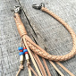 Lone Wolf Leather Braided Leather Strap Veg Tan