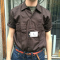Dickies Shortsleeve Work Shirt Dark Brown