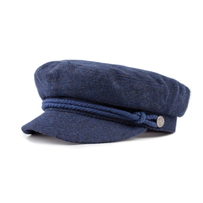 Brixton Fiddler Washed Navy/Navy in the group Men / Headwear / Sailor hats at Sivletto (00004-Fiddler-WSNVY)