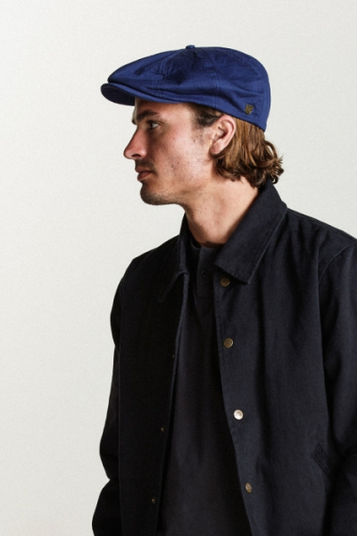 Brixton Brood Snap Cap Midnight Navy in the group Men / Headwear / Flat caps at Sivletto - Skylark AB (00006-Brood-MN)