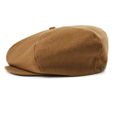 Brixton Ollie Cap Camel in the group Men / Headwear / Flat caps at Sivletto - Skylark AB (00321-OLLIE-CAMEL)