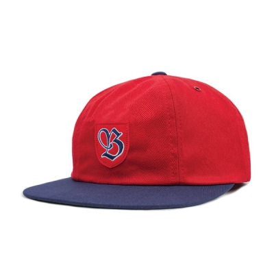 Brixton Snider Cap Red/Navy in the group Men / Headwear / Trucker/baseball caps at Sivletto - Skylark AB (00741)