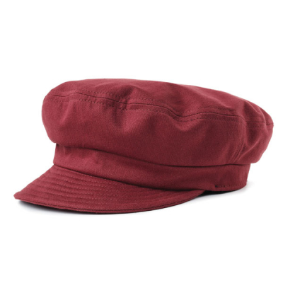 Brixton Fiddler UN cap washed burgundy in the group Men / Headwear / Sailor hats at Sivletto - Skylark AB (00861-WBURG)