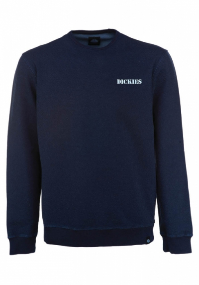 Dickies Pennsbury Sweat Dark Indigo in the group Sale! / Men / Sweaters at Sivletto - Skylark AB (01-200189-DI)
