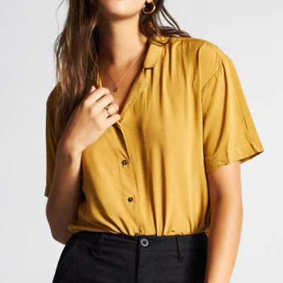 Brixton Naomi short sleeve top in the group Campaign / Brixton women at Sivletto - Skylark AB (01160)