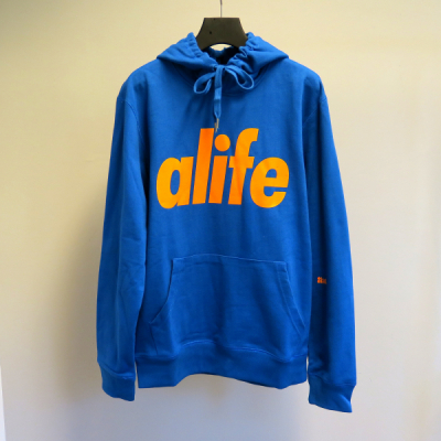 Alife Core Pullover Hoody Victory Blue in the group Men / Sweaters at Sivletto - Skylark AB (035-33510)