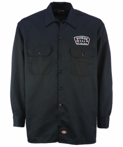 Dickies Minersville Shirt Black in the group Clearance / Men / Shirts at Sivletto - Skylark AB (05-200294-BK)