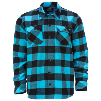 Dickies Sacramento Ocean in the group Men / Shirts, long sleeve at Sivletto - Skylark AB (05200142-OC)