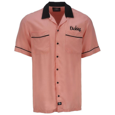 Dickies Wevertown Flamingo shirt in the group Men / Shirts, short sleeve at Sivletto - Skylark AB (05200341FLA)