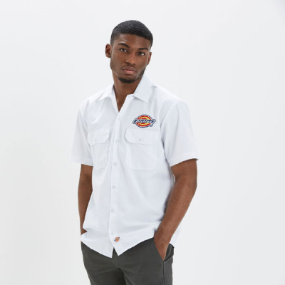 Dickies Clintondale shirt white in the group Clearance / Men / Shirts at Sivletto - Skylark AB (05200348WH)