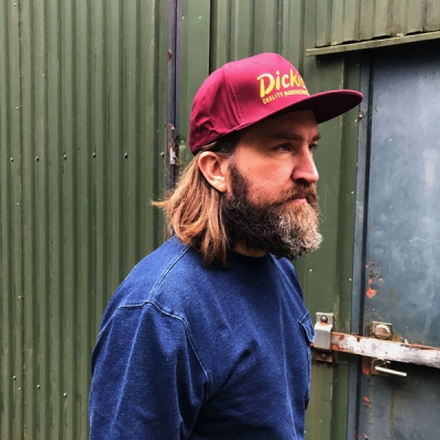 Dickies Donora Snapback Cap Maroon in the group Men / Headwear / Trucker/baseball caps at Sivletto - Skylark AB (08-440015-MR)