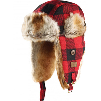 Dickies Trout Creek red trapper hat in the group Men / Headwear / Beanies at Sivletto - Skylark AB (08410207RD)