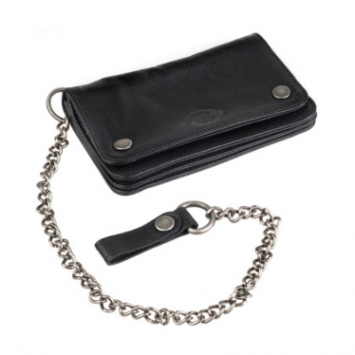 Dickies Deedsville black wallet in the group Men / Accessories at Sivletto - Skylark AB (08410325BK)
