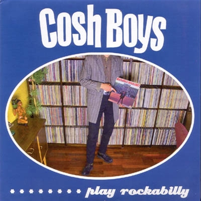 Cosh Boys - Play Rockabilly EP in the group Misc / Music / Vinyl at Sivletto (10175)