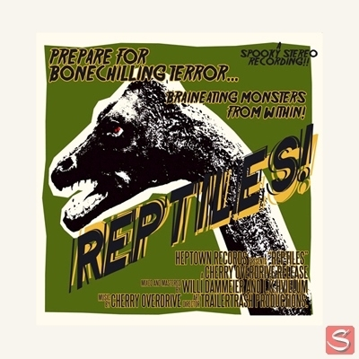 Cherry Overdrive - Reptiles in the group Music & Film / Music / Vinyl at Sivletto - Skylark AB (1027)