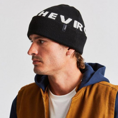Brixton Chevy Collaboration Icon Beanie in the group Men / Headwear / Beanies at Sivletto - Skylark AB (10597)