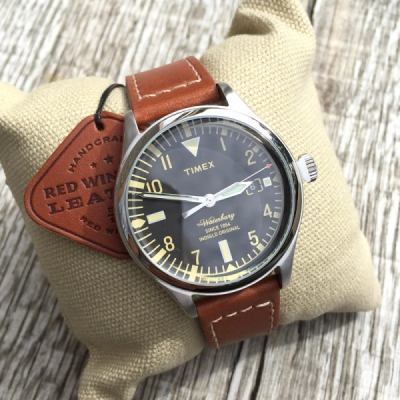 Timex x Red Wing The Waterbury Watch 38mm in the group  at Sivletto - Skylark AB (12066)