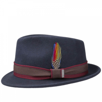 Stetson Tarsell Woolfelt Trilby in the group Men / Headwear / Hats at Sivletto - Skylark AB (1238103-2)