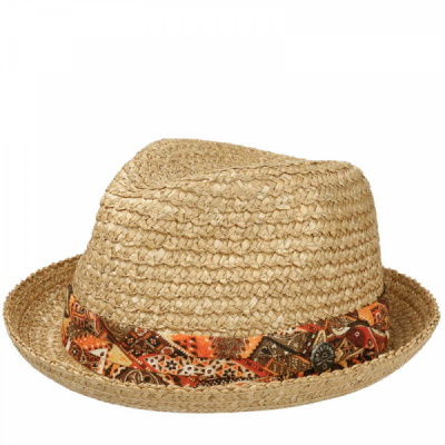 Stetson Martinez Vintage Wheat Straw Hat in the group Men / Headwear / Hats at Sivletto - Skylark AB (1238525-7)