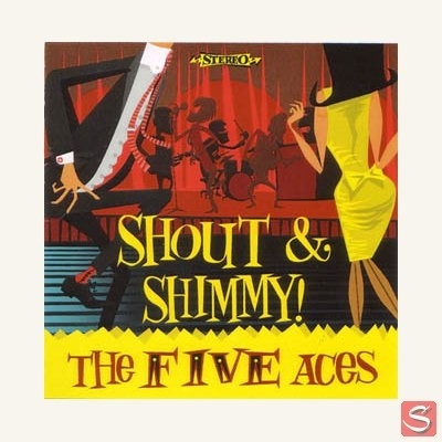 Five Aces - Shout & Shimmy in the group Misc / Music / CD at Sivletto (1398)