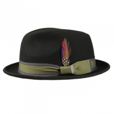 Stetson Player woolfelt hat in the group Men / Headwear / Hats at Sivletto - Skylark AB (13981-12-1)
