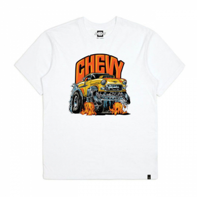Brixton Chevy Collaboration 55 Heavy S/S Standard Tee in the group Sale! / Men / T-shirts at Sivletto - Skylark AB (16220)