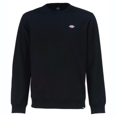 Dickies Seabrook sweatshirt black in the group Sale! / Men / Sweaters at Sivletto - Skylark AB (200203BK)
