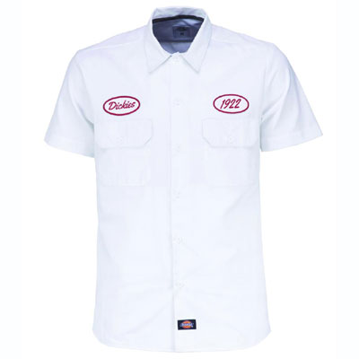 Dickies Rotonda South shirt white in the group Men / Shirts, short sleeve at Sivletto (200211WH)