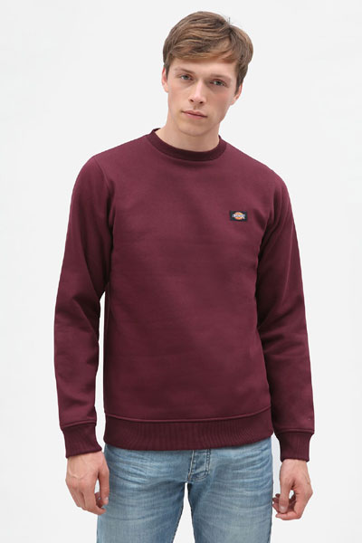 Dickies New Jersey Sweatshirt Maroon in the group Clearance / Men / Sweaters at Sivletto - Skylark AB (200240MR)
