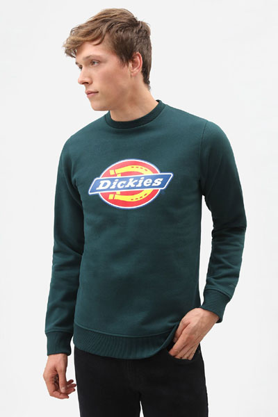 Dickies Pittsburgh Sweatshirt Forest in the group Men / Sweaters at Sivletto - Skylark AB (200241)