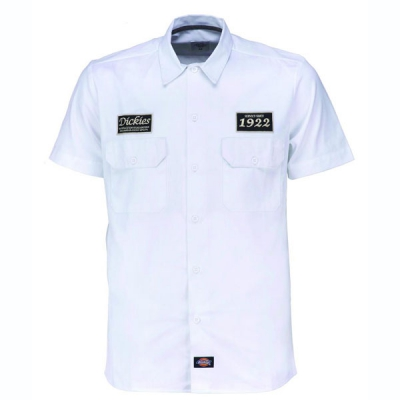 Dickies North Irwin shirt white in the group Men / Shirts, short sleeve at Sivletto (200268WH)