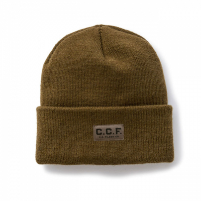 Filson C.C.F Watch cap olive drab  in the group Men / Headwear / Beanies at Sivletto - Skylark AB (20118878OD)