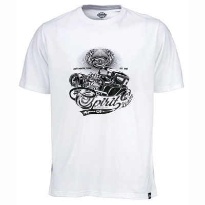Dickies Dodson tee white in the group Clearance / Men / T-shirts at Sivletto - Skylark AB (210579WH)