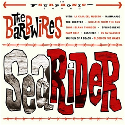 The Barbwires - Searider in the group Misc / Music / CD at Sivletto (2259)