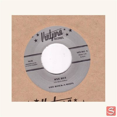 The Rock-A-Bops - Bye Bye / No Regular Daddy in the group Misc / Music / Vinyl at Sivletto (2797)