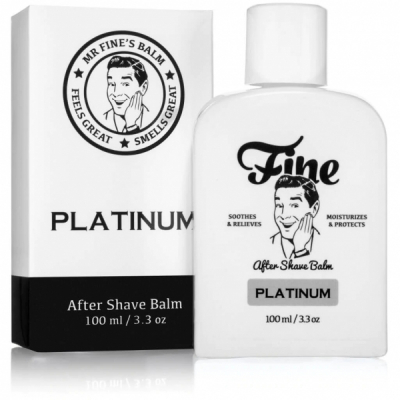 Mr Fine Platinum After Shave Balm in the group Grooming / Shaving / Aftershave at Sivletto - Skylark AB (2821009)