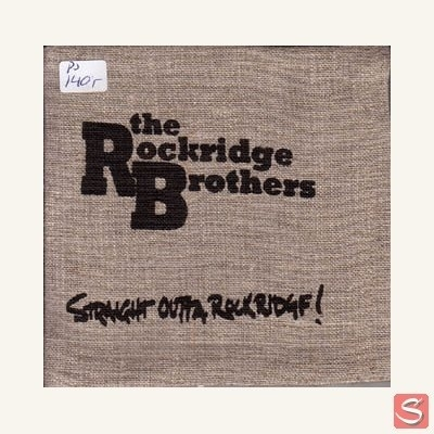 The Rockridge Brothers - Straight outta rockridge! in the group Music & Film / Music / CD at Sivletto - Skylark AB (284)