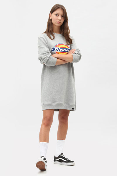 Dickies Benham Sweatshirt Dress in the group Clearance / Women / Dresses at Sivletto - Skylark AB (300024)