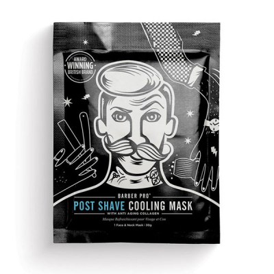 Barber Pro Post-Shave Cooling Mask in the group Hair and skincare / Shaving / Aftershave at Sivletto - Skylark AB (3201001)