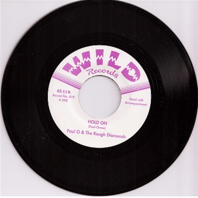 Paul O & The Rough Diamonds - Hold On / Swinging Time On Planet 9 in the group Misc / Music / Vinyl at Sivletto (4071)