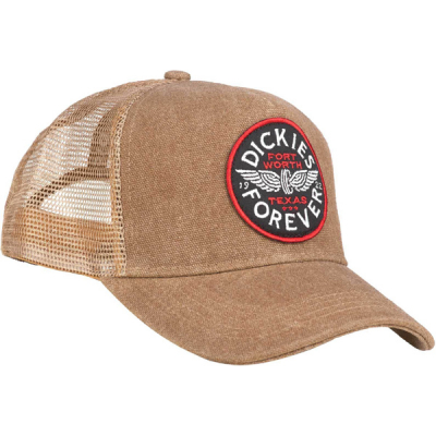 Dickies Andes cap brown duck in the group Men / Headwear / Trucker/baseball caps at Sivletto - Skylark AB (440075BD)
