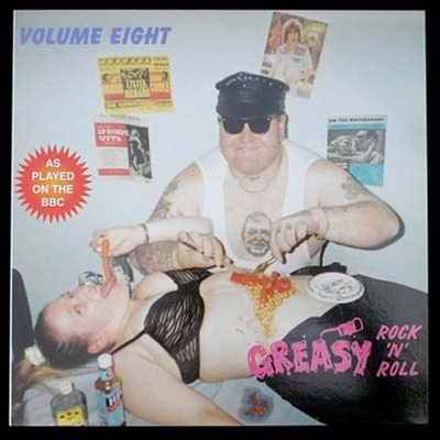 Greasy RocknRoll Vol 8 in the group Misc / Music / Vinyl at Sivletto (4439)