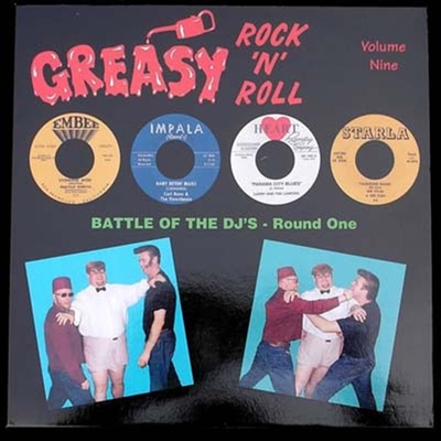 Greasy RocknRoll Vol 9 in the group Misc / Music / Vinyl at Sivletto (4440)