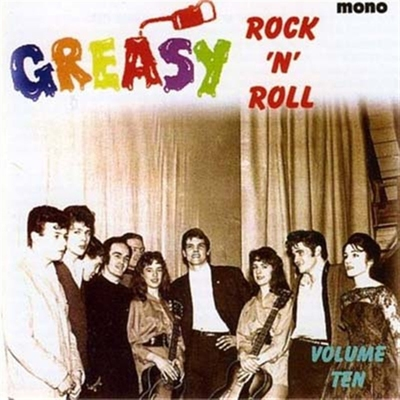 Greasy RocknRoll Vol 10 in the group Misc / Music / Vinyl at Sivletto (4441)